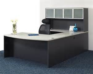 Michael Amini Desk Napa Grey U Shape Executive Office Set New Office Furniture