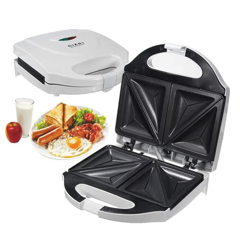Teflon Snack Maker electric sandwich toaster toasties maker non stick panini