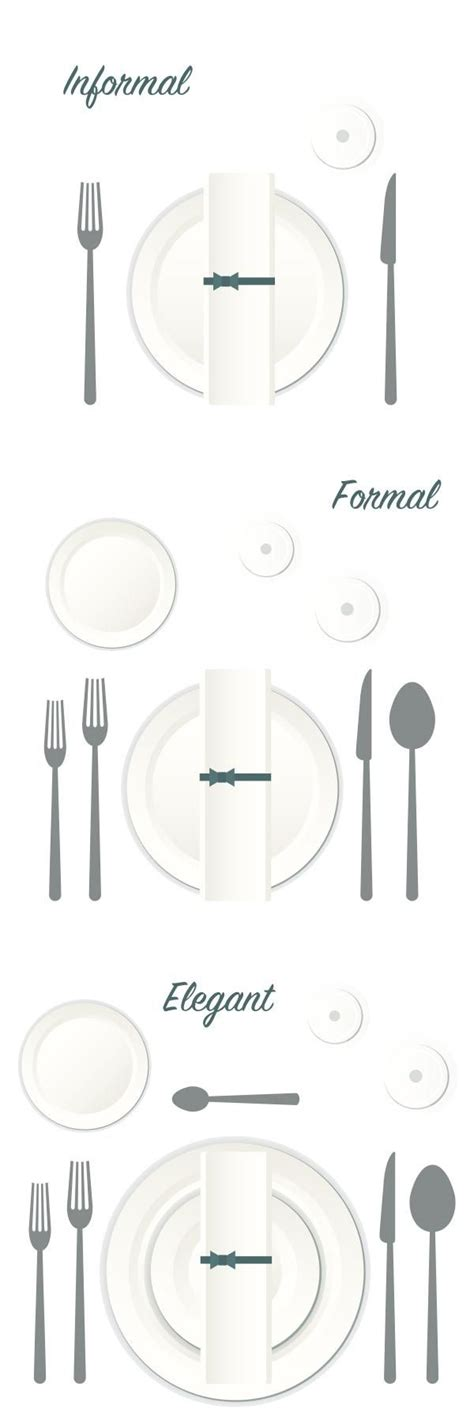 how to set a formal table 25 best ideas about table place settings on pinterest