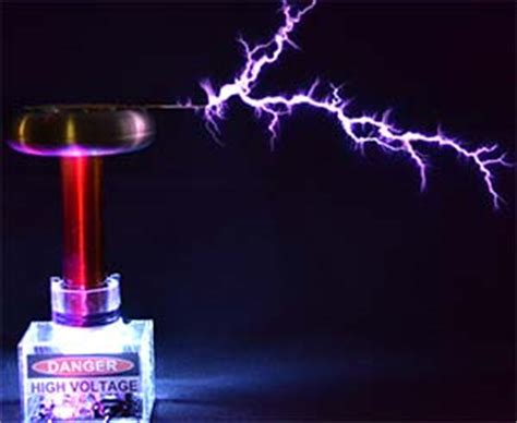 Tesla Coil Simple Explanation Basic Electricity Defined Simplified Micrometl
