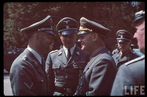 third reich color pictures waffen ss in color third reich color pictures reichsf 252 hrer ss heinrich himmler