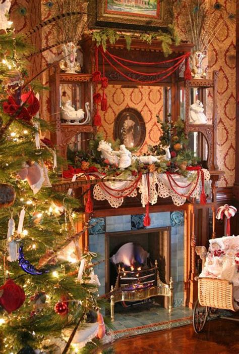 Victorian Homes Decorating Ideas 30 exquisitely stunning victorian christmas decorating