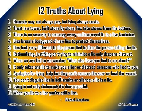 quotes about lying quotes about lying quotesgram