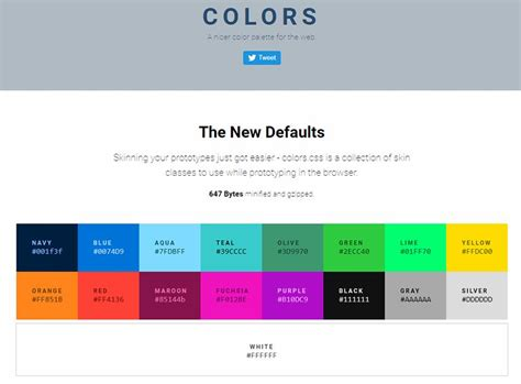 a guide to css colors in web design top 12 web based color tools for web designers