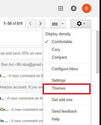how to change your gmail background how to change gmail background theme