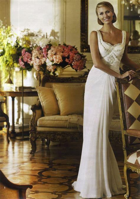 george clooney gf keibler in wedding dresses by pronovias 2013 4