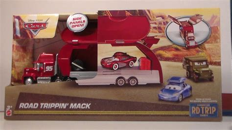 Cars Fillmore Road Trip Rd Tr1p Mattel Disney Pixar Diecast 1 55 road trippin mack new 2017 cars mattel rd tr1p disney pixar playset diecast unboxing review