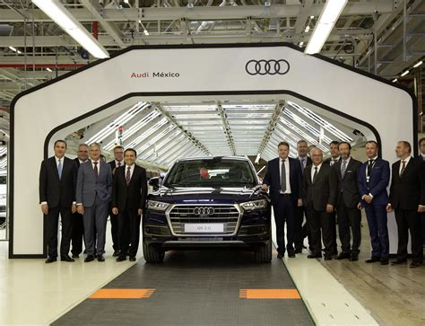 audi mexico smart factory audi opens advanced manufacturing plant in