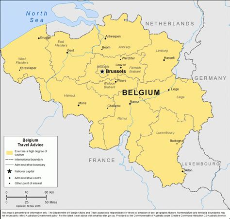 map of belgium and belgium and brussels safety tips and map safearound