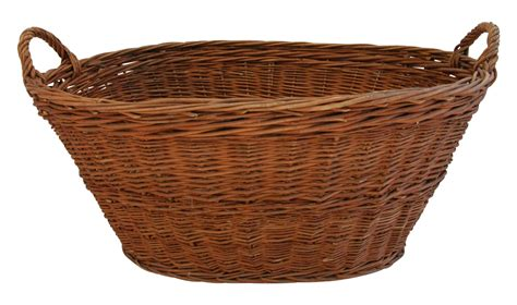 Painted Armoires Antique Woven Wicker French Market Basket Chairish