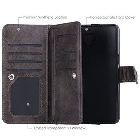 Wallet Oneplus 3t Premium Leather With Card Slot Murah oneplus 3 oneplus 3t oneplus 3 wallet