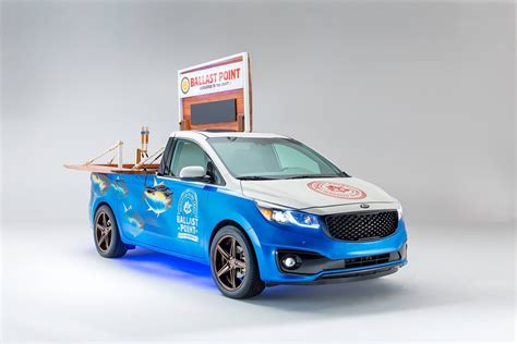 kia brought four all new concepts at sema celebrating