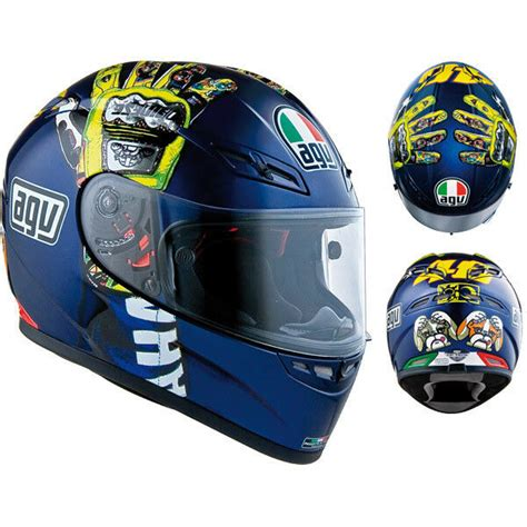 agv gp tech full face motorcycle helmet mugello hands rossi xlarge xl limited ebay