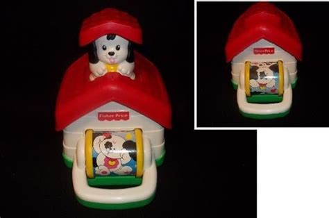 pop up dog house fisher price dog house infant toy rattle pop up t kids heaven in lisle pinterest