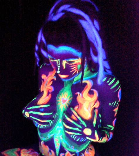 blacklight paint ideas by millieconnor whi