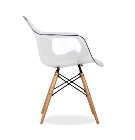 chaise eames transparente chaise daw transparente style eames secret design