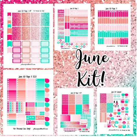 Monthly Planner Sticker plannerproblem free printable planner stickers