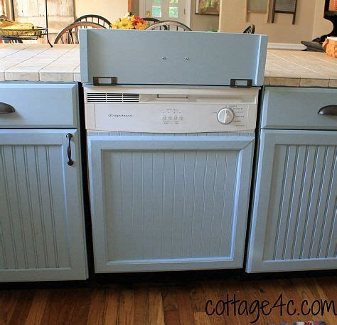 how to cover kitchen cabinets how to cover up dishwasher to look like a built in cabinet