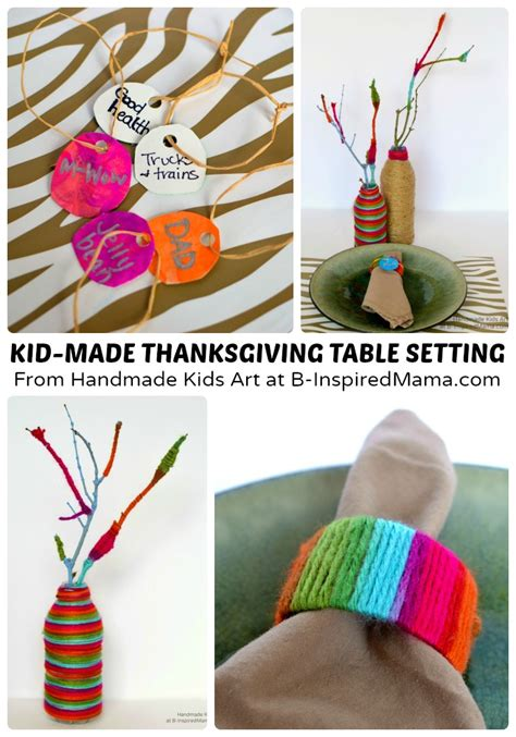 diy thanksgiving crafts for thanksgiving crafts for a diy table setting b