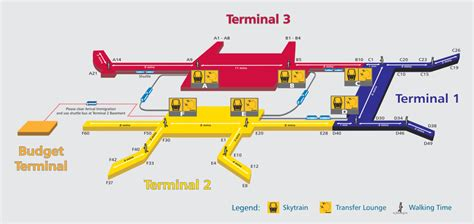 map of singapore airport terminals map of singapore airport