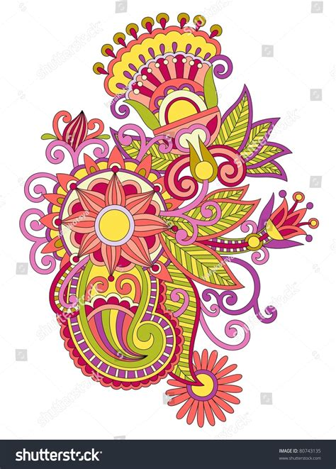 traditional design elements vector beautiful flower design element ukrainian traditional