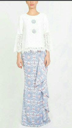 Setelan Kebaya Blouse Skirt Muslim Distia baju kurung moden lace minimalis baju raya 2016 fesyen trend terkini fesyen trend terkini