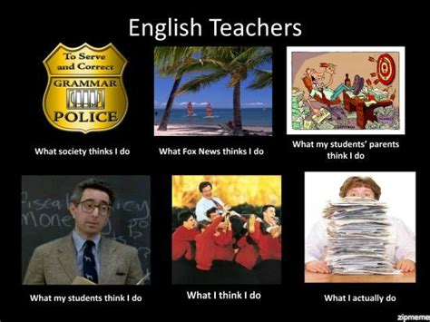 Memes About Teachers - english teacher meme