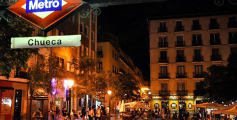 zonas de marcha vida nocturna en madrid