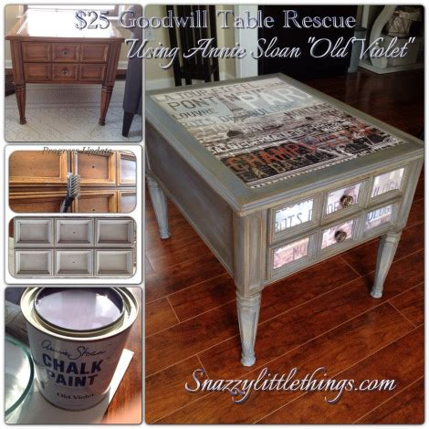 chalk paint upcycling upcycle those cheap thrift store tables the crafty