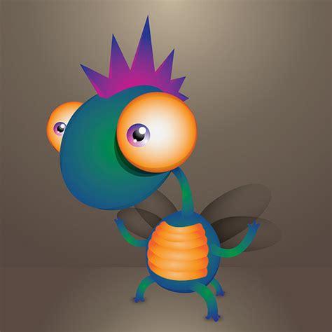 illustrator tutorial monster how to create a cute little monster in illustrator