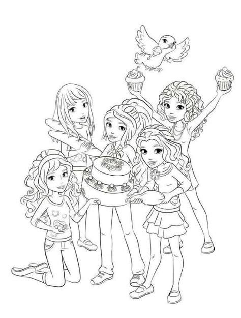 lego friends jungle coloring pages kleurplaat lego friends lego friends beauty