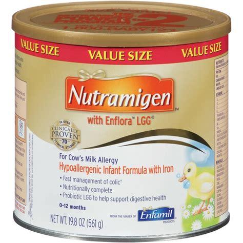 Formula Hypoallergenic Nutramigen Hypoallergenic With Iron 0 12 Months Infant