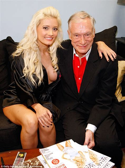 Hugh Hefner And On Baby Theres Been Lots Of Trying enjoys day with rainbow after hugh