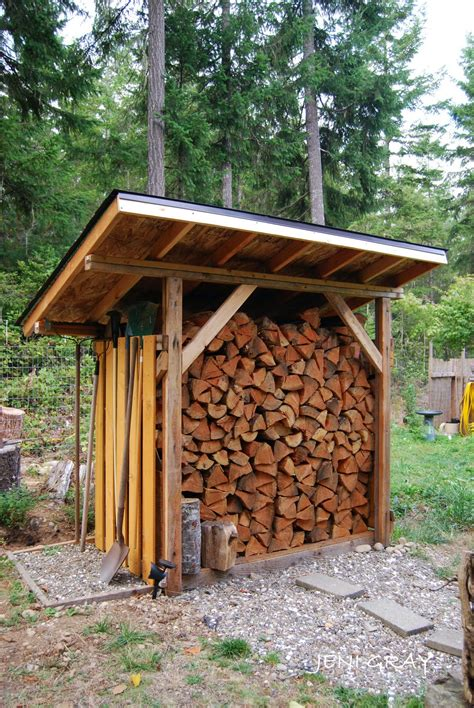 Quality Firewood Storage Shed Plans by 1000 Images About Outbuildings On Coops