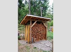 Winterizing your House Exterior, Doors & Windows Part 2 Firewood Storage