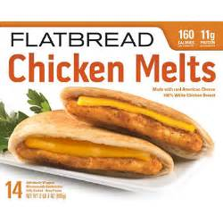 Cooking Light Chicken Sandwich Brothers Flatbread Chicken Melt 35 Oz 14 Pk
