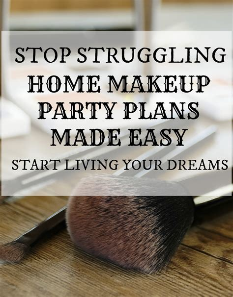 home party plan your makeup home party plans begin here