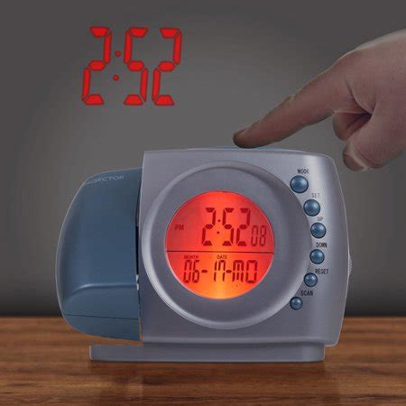 northwest projection alarm clock with fm radio walmart