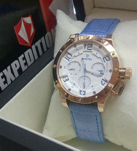 Jam Tangan Anak Qq Rubber Bisa Pakai Nama Atau Foto Murah expedition e6381 leather pusat jual jam tangan