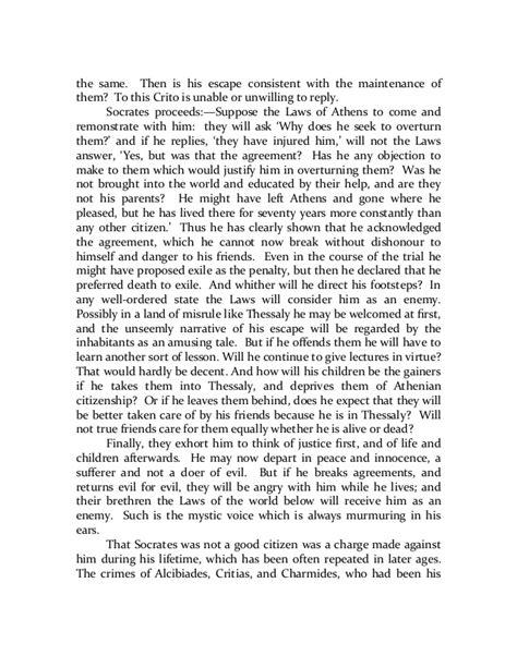 Plato Crito Essay by Crito 50 Essays Frankensteincoursework X Fc2