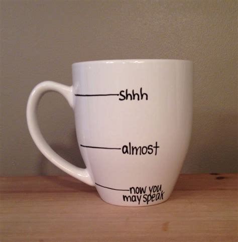 coffee mug ideas warning coffee mug indicates when it s safe to talk