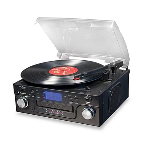 bed bath and beyond turntable buy crosley cr6008a usb and sd tech turntable from bed