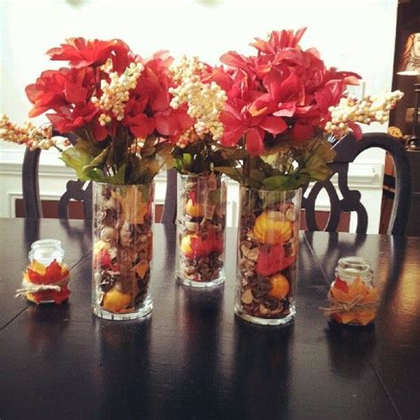 tree centerpieces ideas dollar tree fall centerpiece crafts