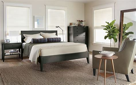 room and board calvin dresser calvin bedroom in charcoal modern bedroom furniture