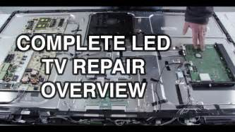 Mitsubishi Lt 52153 Led Tv Repair Tutorial Common Symptoms Solutions How