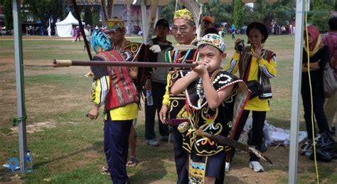 mengenal permainan olahraga tradisional sumpitan