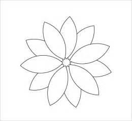 flower template pdf 25 unique flower petal template ideas on big