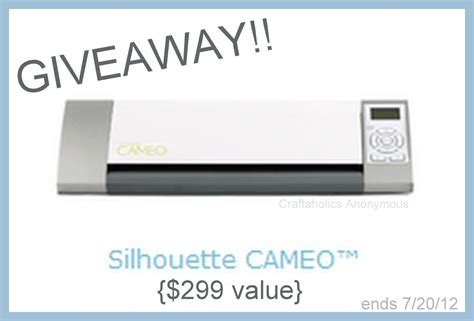 Silhouette Cameo Giveaway - silhouette cameo giveaway craftaholics anonymous 174