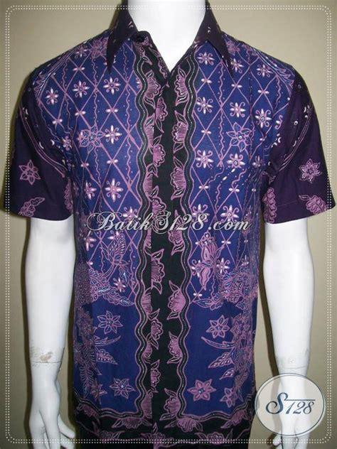 Batik Modis Keren Murah kemeja batik tulis pola modis keren elegan dan eksklusif