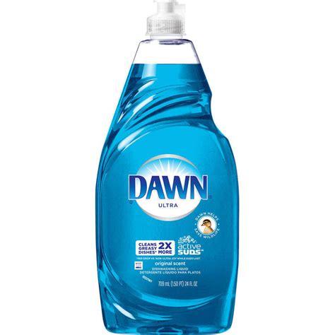 amazon com dawn ultra dishwashing liquid lemon scent yellow 24 ounce pack of 2 health